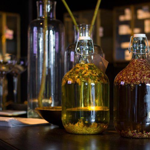 Les macérations- Les vinaigres de cidre aux plantes de Bienvenuta