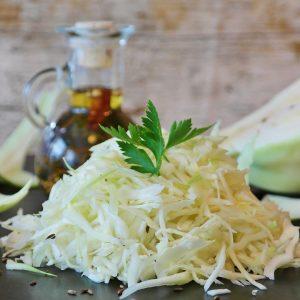 Coleslaw au vinaigre de gingembre